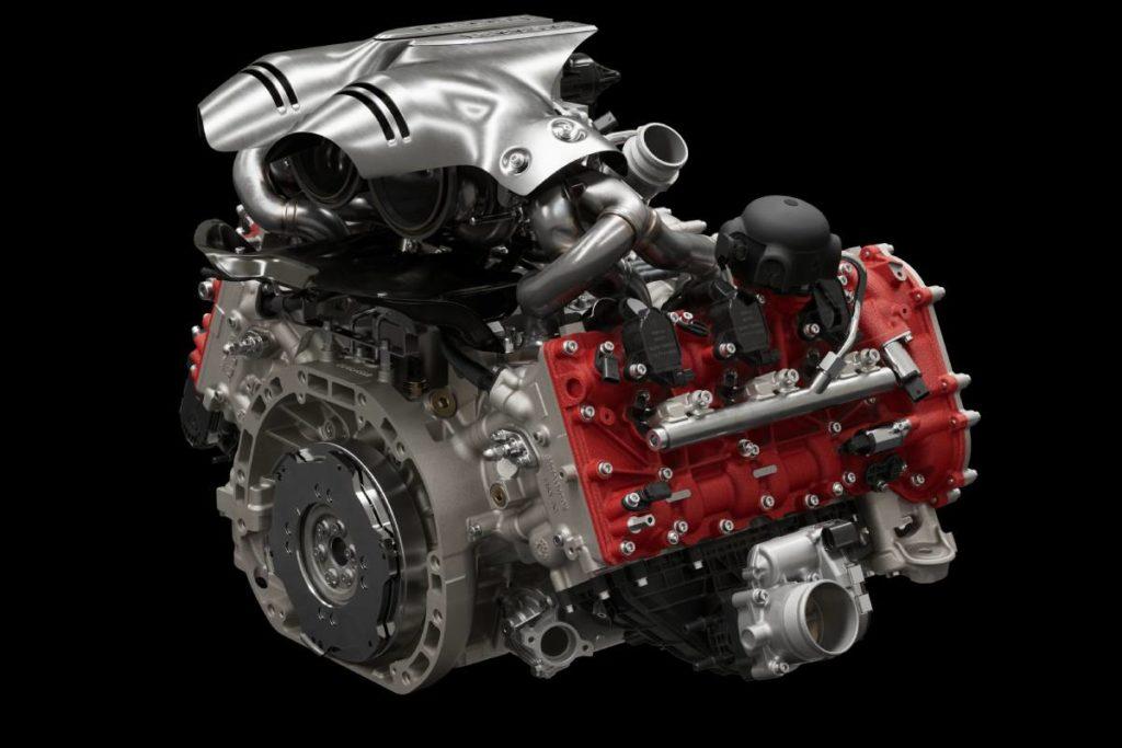 Motor Ferrari 296 GTB