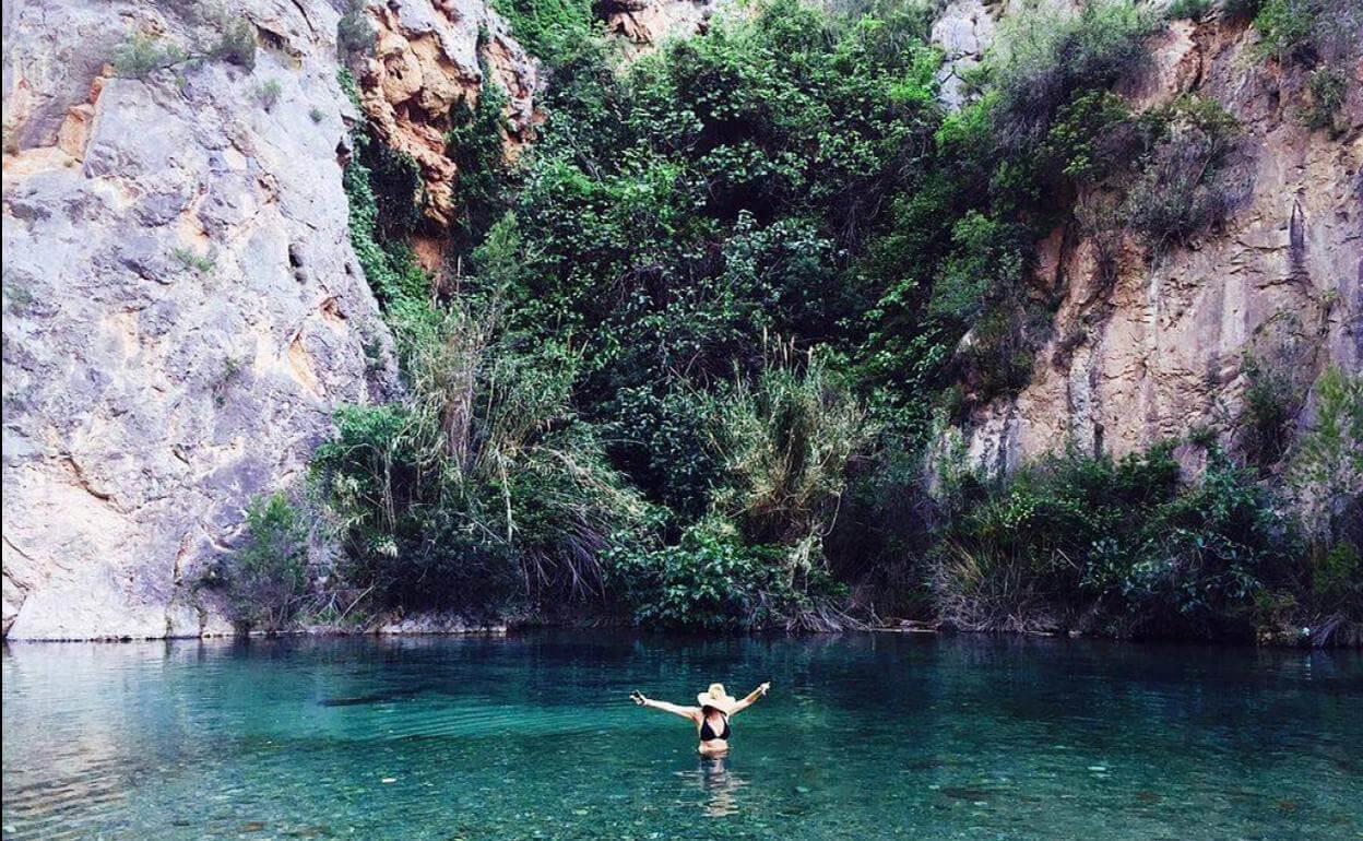 Montanejos río Mijares
