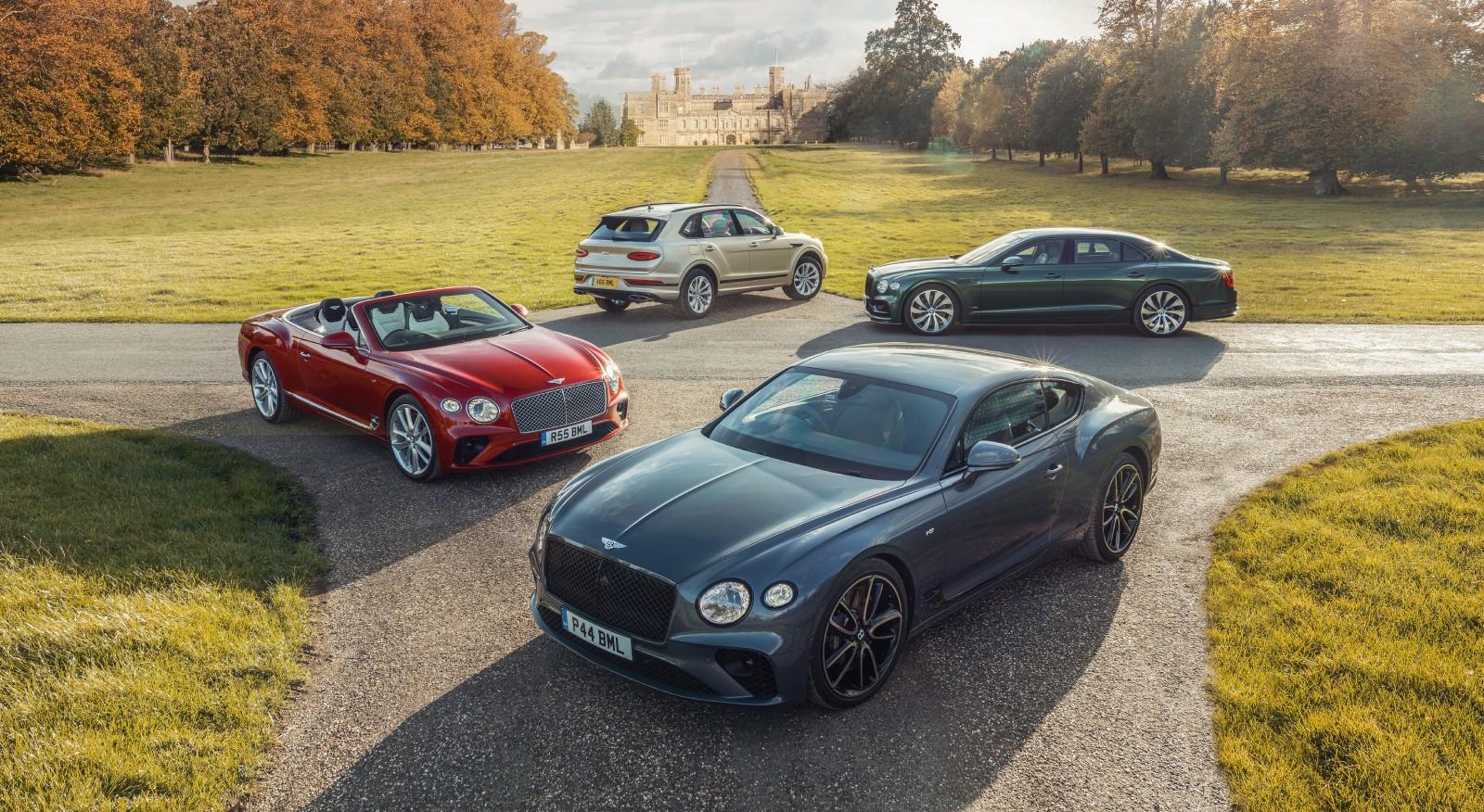 Bentley catálogo de coches de lujo