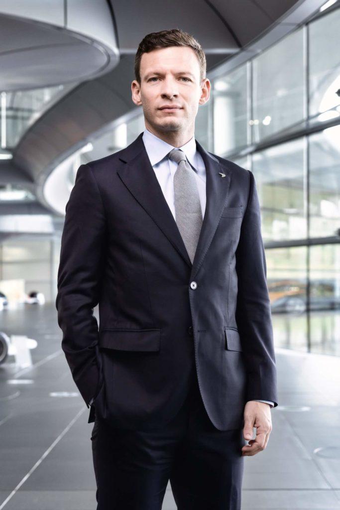 George Biggs Director Comercil McLaren