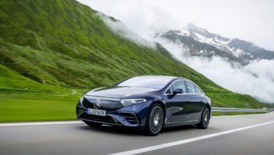 Mercedes-Benz EQS berlina de lujo